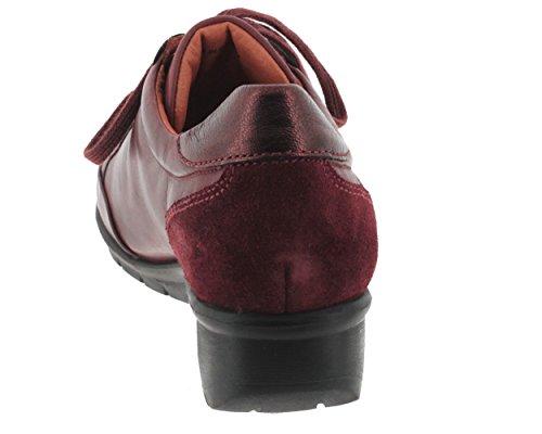 Pikolinos, Victoriaville-4583c2, Femme, lacets Bordeaux bi-matière