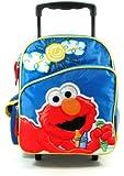 "Small Rolling Backpack - Sesame Street - Elmo - Big Sun 12"""