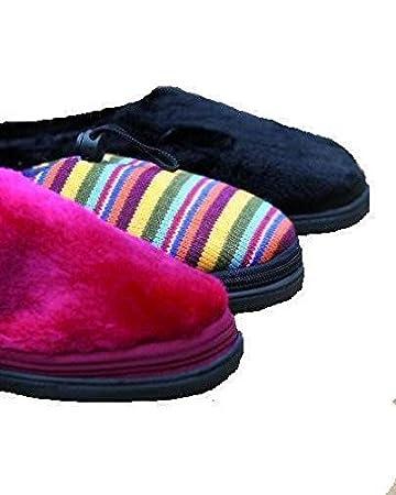 Amazon.com: Microondas climatizada Zapatillas, Negro: Health ...