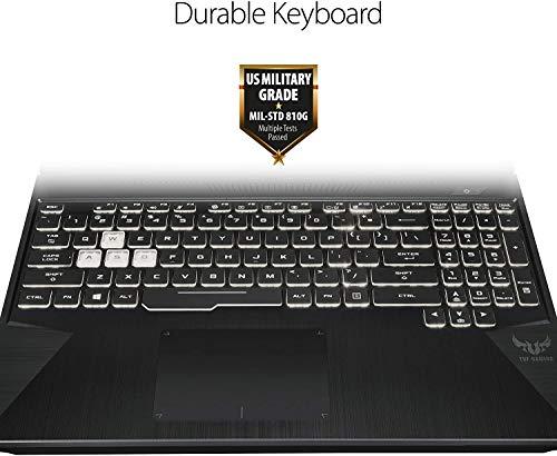 """Newest ASUS TUF 15.6"""" FHD Premium Gaming Laptop   AMD Ryzen 5 3550H   32GB RAM   1TB SSD   NVIDIA GeForce GTX 1650 4GB   Backlit Keyboard   Windows 10 + Woov Accessory Bundled"""