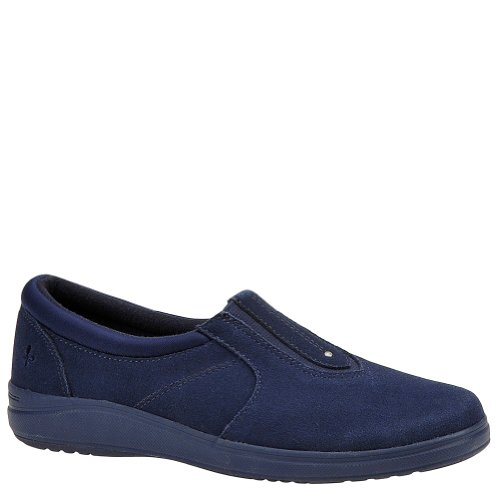 Grasshoppers Stretch Plus Center Gore Slip On Shoes, Navy, 7 1/2 narrow