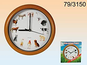 Low cost product - Reloj de pared melodía animales granja