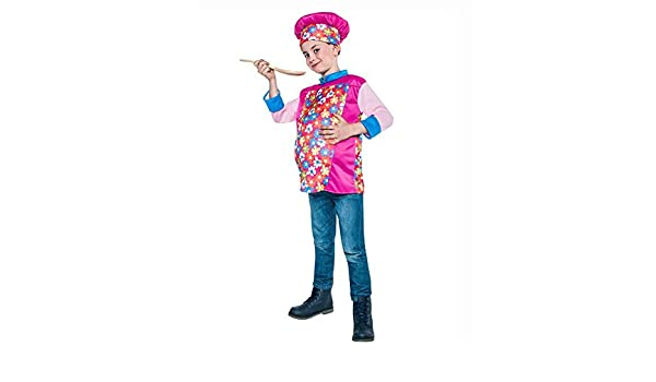 Disfraz de Cocinero barrigón para niño: Amazon.es: Juguetes ...