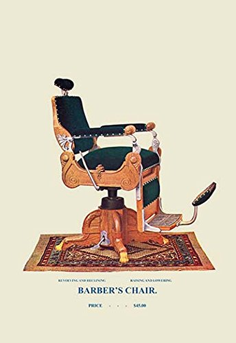 Buyenlarge-0-587-04537-x-P1827-Barbers-Chair-75-Paper-Poster-18-x-27