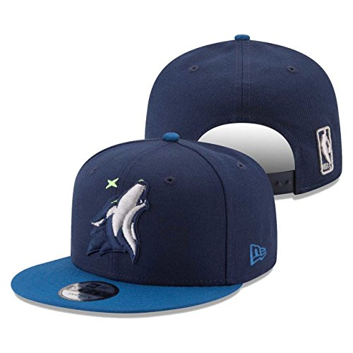 fan products of Minnesota Timberwolves Adult NBA 950 Two Tone Snapback - Team Color ,