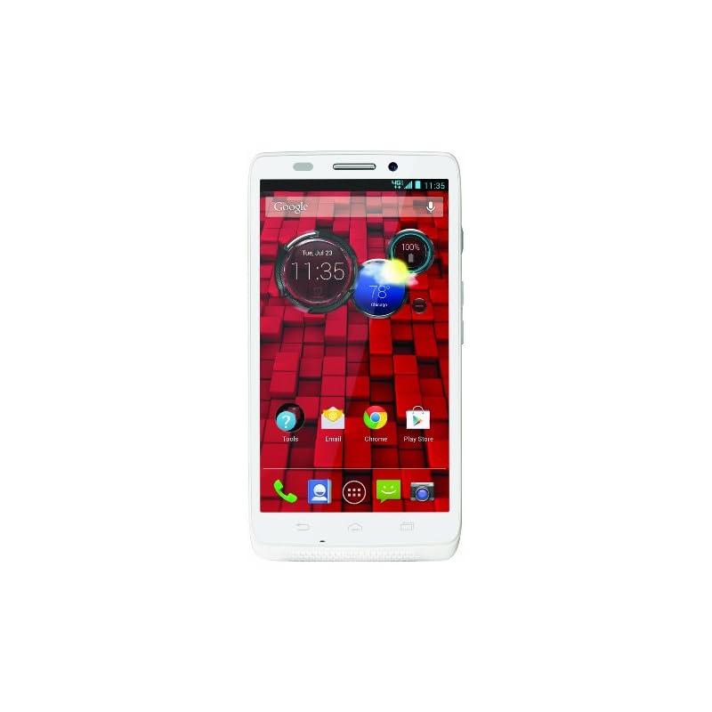 Motorola DROID ULTRA, White 16GB (Verizo