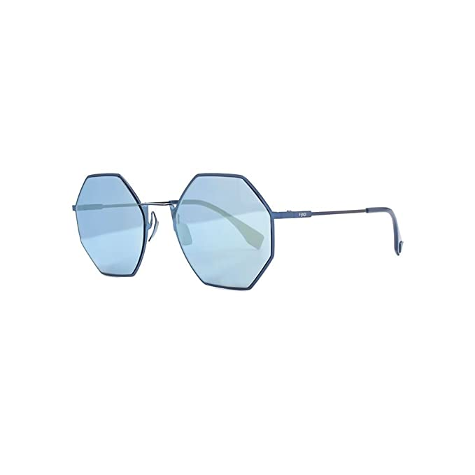115664a0e80 Fendi EYELINE FF 0292 S BLUE BLUE women Sunglasses  Amazon.co.uk ...