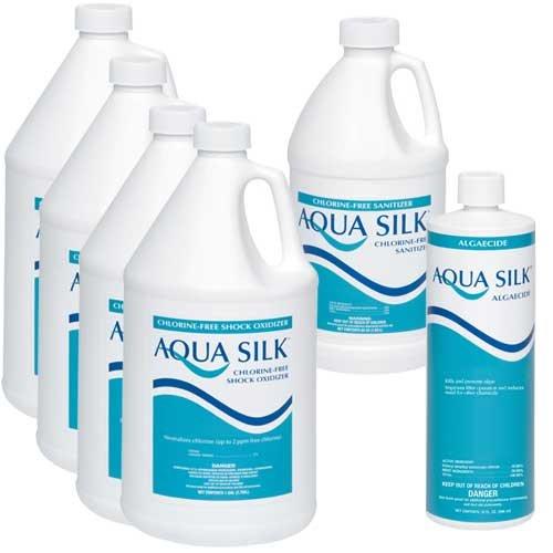 Aqua Silk Chlorine-Free Pool Chemical Value Pack 1 (Formula Chlorine Chemical Pool)