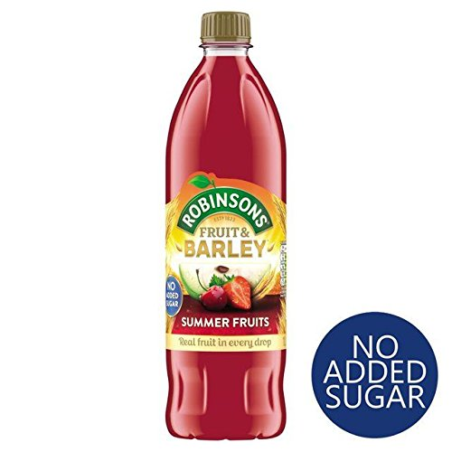 Robinsons Summer Fruits Fruit & Barley No Added Sugar - 1L (33.81fl -