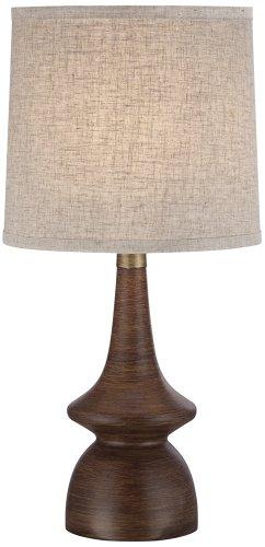 Rexford Mid Century Modern Walnut Table Lamp Amazoncom