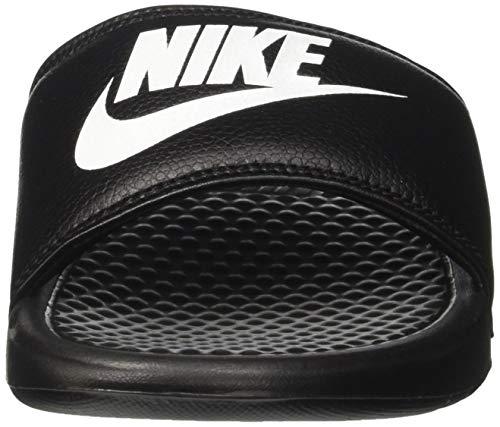 090 Pool Jdi nero Benassi Shoes Nero Beach bianco Nike Uomo T7vxfqxw