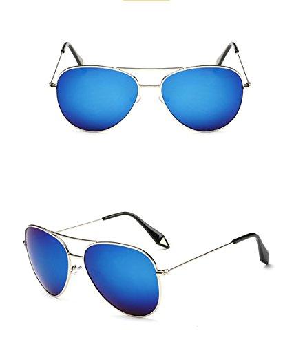 Espejo Gafas amp; Gran polarizada Película de X9 de Lente Gafas de Color protecciónn 8 Vintage 7 amp;Gafas sol personalidad Marco Gafas qgatgx1S