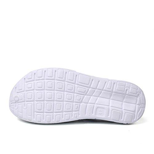 Trocknend Schuhe Männer Outdoor Sandalen Männliche Pantoffel Herren Flache Clog Breathable LHWY Schwarz Strand Schnell Slipper Sommer wI6vqEv