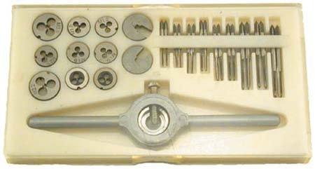 Metric 30 pc. Mini Tap & Die Set