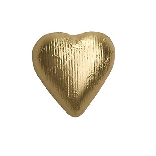 Gold Candy Milk Chocolate Hearts 2lb