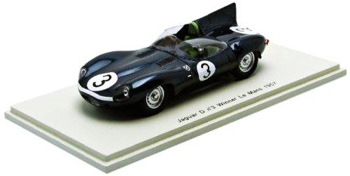 1/43 ジャガー Dタイプ 1957年 ル・マン24時間 優勝 I.Bueb/R.Flockhart 43LM57