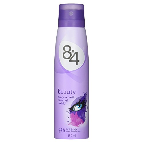 8x4 Deo Beauty Spray, ohne Aluminium, 1er Pack (1 x 150 ml)