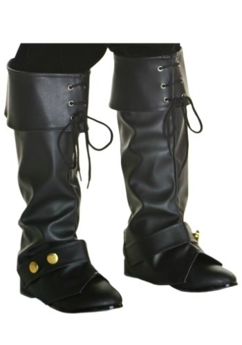 Child Deluxe Pirate Boot Tops Standard Fun Costumes