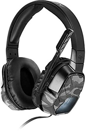 PDP - Auricular Stereo Afterglow Lvl 5 Plus, Color Camo Blanco (PS4)