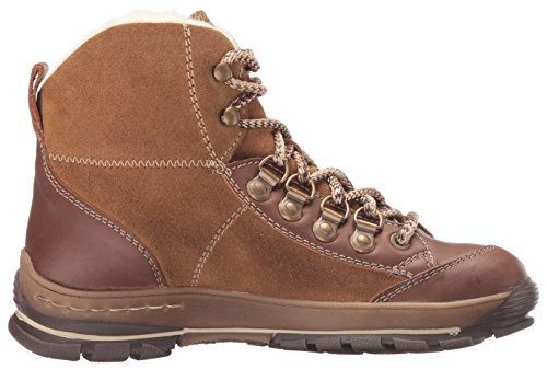 Bos. & Co. Womens Geenah Snow Boot Cammello Montagna / Olio Scamosciato