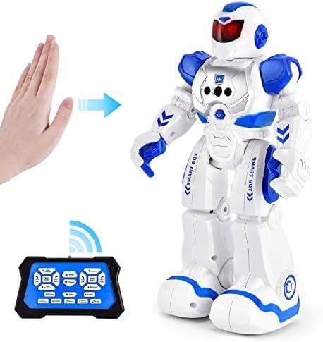 Rainbrace Smart Robot Toys Remote Control Robot,RC Robot for Kids,Robotic for Boy Toys 4 5 7 8 9 12 Years Old Boys Girls Kids Christmas Birthday Gift