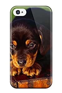 patience robinson's Shop Hot dog animal cute frendly dogs pet Anime Pop Culture Hard Plastic iPhone 4/4s cases 5994503K424465809