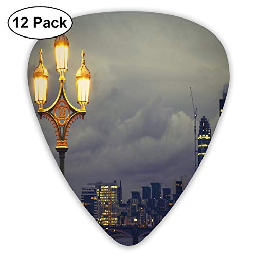 Guitar Picks - Abstract Art Colorful Designs,Westminster Bridge