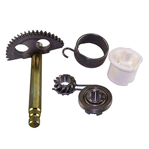 (FLYPIG Kick Start Shaft Assembly Starter Gear for Yamaha PW50 PW 50)