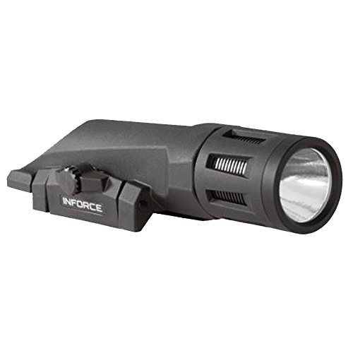 - INFORCE WMLx, Weaponlight, Gen 2, Black Finish, Primary White Light