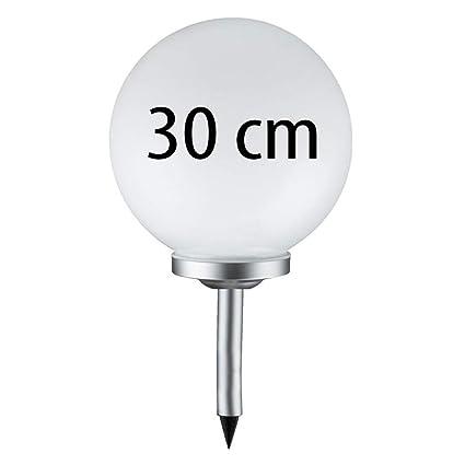 Gartenkugel LED Kugel Solarleuchte Gartenlampe NEU Solarkugel 20 cm mit 4 LEDs