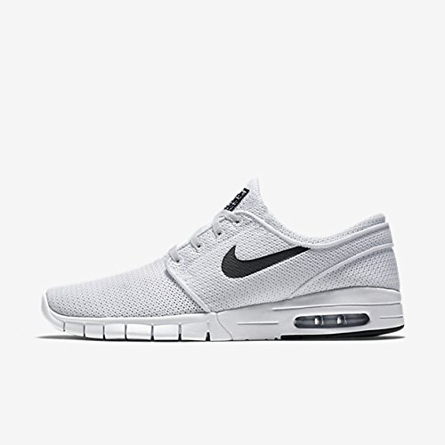 b1bb3f7bb5d52 air-o-motion. Nike Men s Stefan Janoski Max White Black 100Sneakers ...