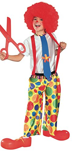 Chuckle King Clown Child Costume, (Chuckles The Clown Costume)