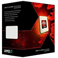 "AMD FX 8350 Black Edition ""Vishera"" CPU (8 Core, AM3+, Clock 4.0 GHz, Turbo 4.2 GHz, 8 MB L3 Cache, 125 W)"