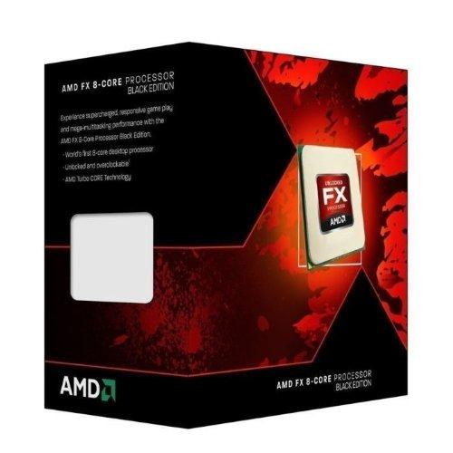 Procesador AMD FD8350FRHKBOX FX-8350 serie FX de 8 núcleos y edición en negro