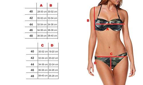 Imbottite Store Fantasia Silver E Meytal Bikini Mediawave Mod Dw8857 Costume Coppe Camouflage vdwxYq6
