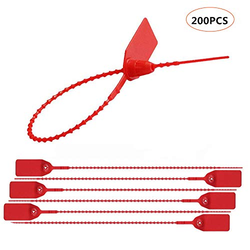 (Red Pull-Tite Security Seal (Package of 200))