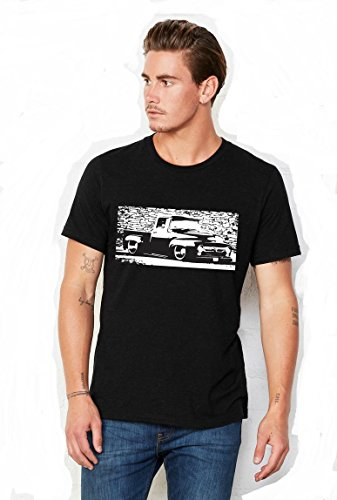 Ford f100 Men's Tshirt Custom Truck 1953-1956 (X-Large, (1953 Ford F100)