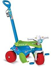 Triciclo Motoka Passeio e Pedal Adventure, Bandeirante, Azul