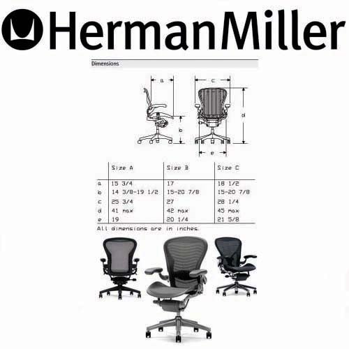 amazoncom herman miller aeron chair large size c kitchen dining - Herman Miller Aeron Chair