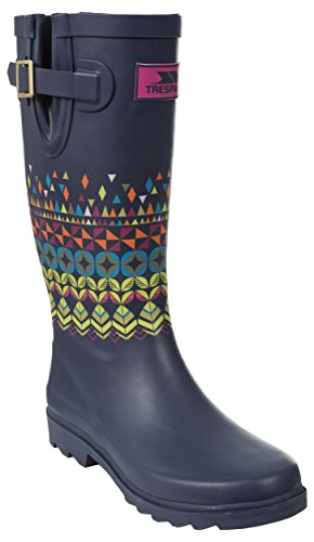 Wellington Ikg Boots Geometrico Blu Trespass Samira Da Donna inchiostro fwg5qp