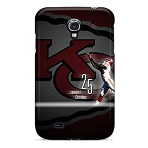 Awesome KPA587TJQL Mxcases Defender Tpu Hard Case Cover For Galaxy S4- Kansas City Chiefs