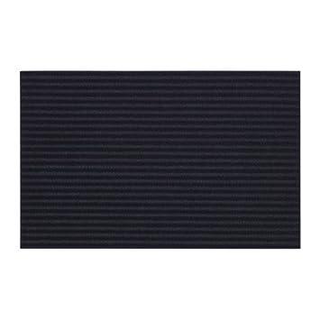 IKEA KRISTRUP Fußmatte 35x55 Bodenmatte Fußabtreter Türmatte dunkelblau NEU