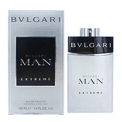 Bvlgari Man Extreme Eau De Toilette Spray for Men 3.4 oz. New with - Silver Bvlgari