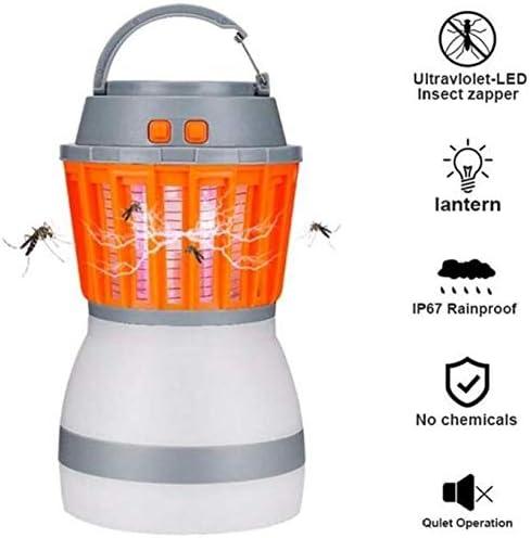 LIUDIEGE モスキートキラー、電気蚊取りザッパー屋内ナイトランプ、蚊のコントロール、蚊トラップ、バグザッパー、昆虫ザッパー