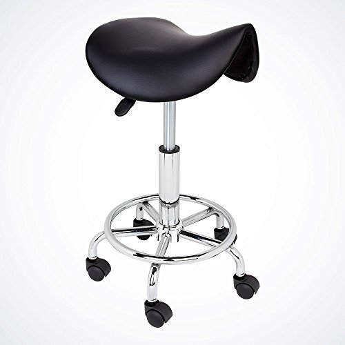 GotHobby Black Modern Salon Stool Saddle Chair Facial for sale  Delivered anywhere in USA