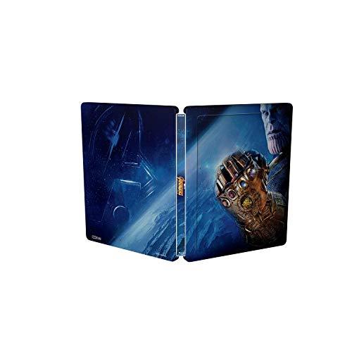 BD 3D Steelbook Vengadores Infinity War [Blu-ray]: Amazon.es: Robert Downey Jr, Chris Hemsworth, Mark Ruffalo, Chris Evans, Joe Russo, Anthony Russo, Robert Downey Jr, Chris Hemsworth: Cine y Series TV