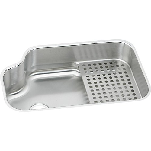 Elkay Lustertone MYSTIC3021BG Single Bowl Undermount Stainless Steel Sink ()