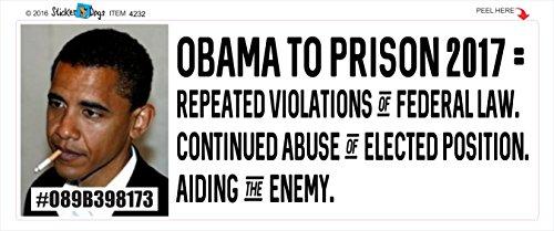 Obama's Inauguration - 14 Missed Work - Anti Obama - Political Bumper Sticker