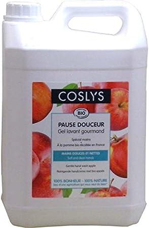 Coslys Gel Lavante Mains Pomme Bio 5 L Amazon Fr Beaute Et Parfum