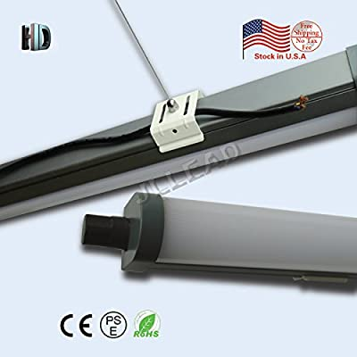 20PACK led Tri-proof light 5ft 72W with 6500K Surface Integrated Tubes Explosion led AC100-277V LED Batten Tube Light